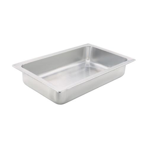 "Winco C-WPF 4"" Deep Full Size Dripless Water Pan"