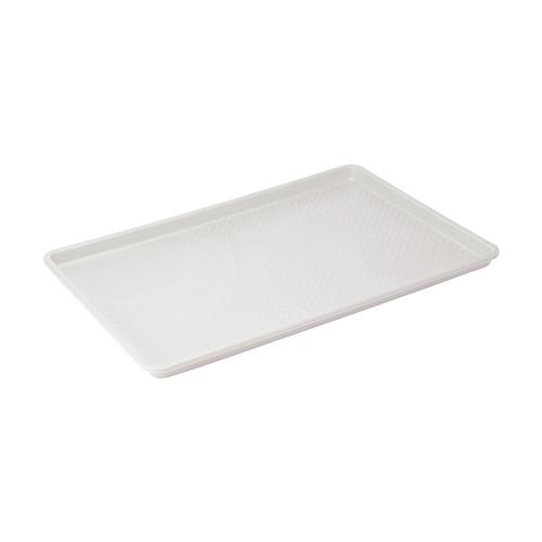 "Winco FFT-1826 18"" x 26"" White Plastic Sheet Tray"