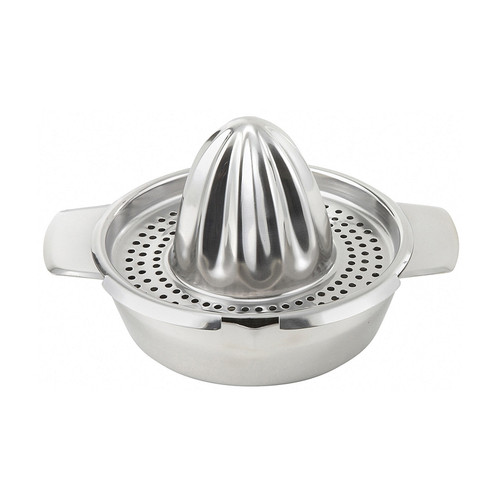 "Winco JC-4 5"" Dia. Stainless Steel Hand Citrus Juicer"
