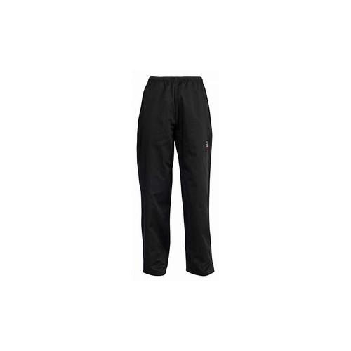 Winco UNF-2KXXL Unisex Chef Pants - Black, 2X-Large