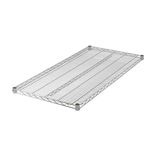 """Winco VC-2442 24"""" x 42"""" Chrome Wire Shelf"""