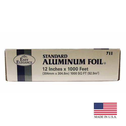 """Easy Elegance 12"""" x 1000' Standard Aluminum Foil Roll"""