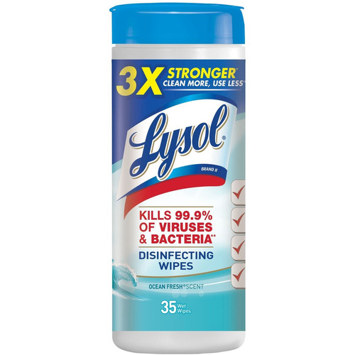 Lysol 35 Count Spring Waterfall Scent Disinfecting Wipes