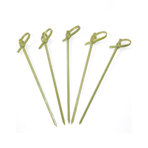 """4"""" Bamboo Knot Pick - 1000/Case"""