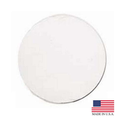 """12"""" White Cake Circle - 250/Case"""