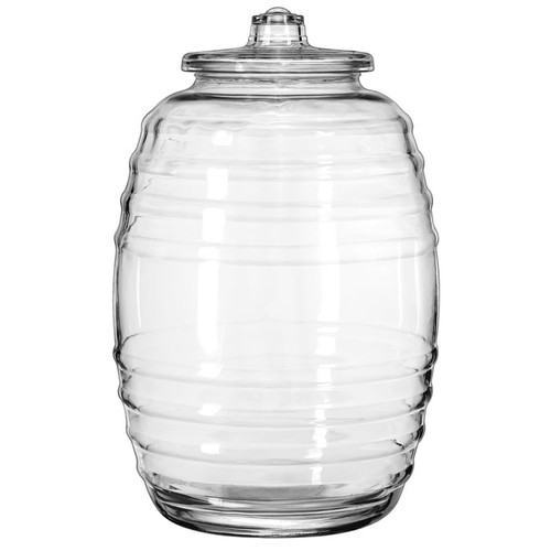 Libbey 9520004 5.3 Gallons Barrel with Lid