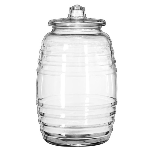 Libbey 9520003 2.6 Gallons Barrel with Lid