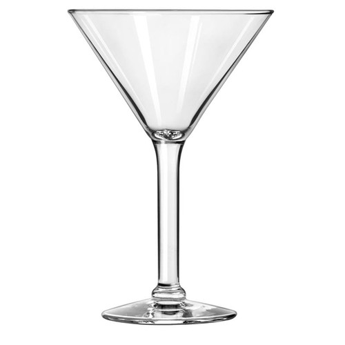 Libbey 8485 8.5 oz. Grande Salud Martini Glass - 12/Case