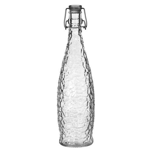 Libbey 13150120 33.875 oz. Glacier Water Bottle with Wire Bail Lid