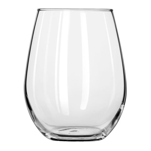 Libbey 217 11.75 oz. Stemless White Wine Glass - 12/Case