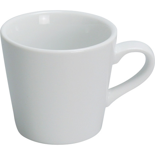 Yanco AC-1 7 oz. Super White Porcelain Tall Cup - 36/Case