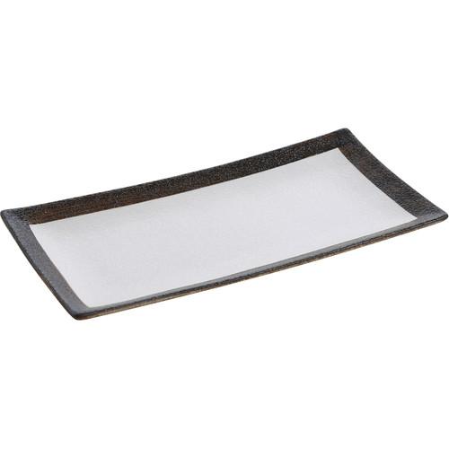 """Yanco RO-2112 11 1/2"""" x 5 1/2""""Rectangular China Plate - 12/Case"""