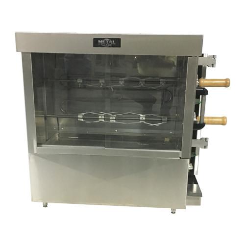 Metal Supreme FRG2VE Gas Rotisserie Oven - 30,000 BTU