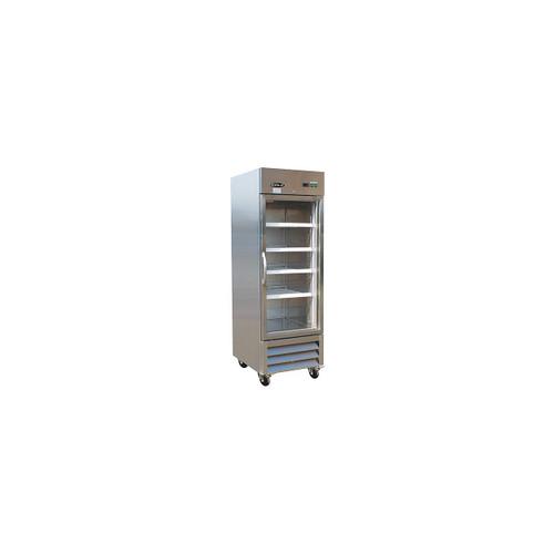 IKON KB27RG Single Glass Door Bottom Mount Refrigerator