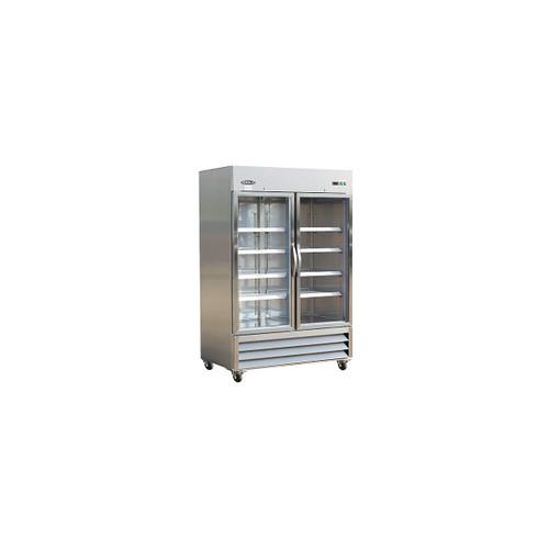 IKON KB54RG Double Glass Door Bottom Mount Refrigerator