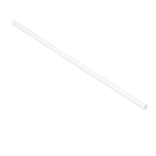 "Tablecraft 100102 Wrapped Straws, 7-3/4"", 5mm, Natural, PLA - 300/Pack"