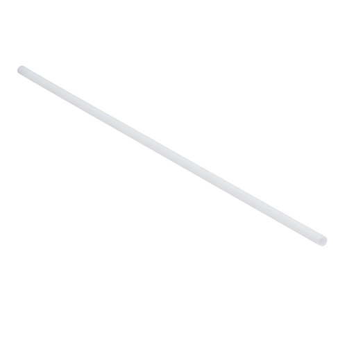 "Tablecraft 100104 Wrapped Straws, 10"", 5mm, Natural, PLA - 300/Pack"
