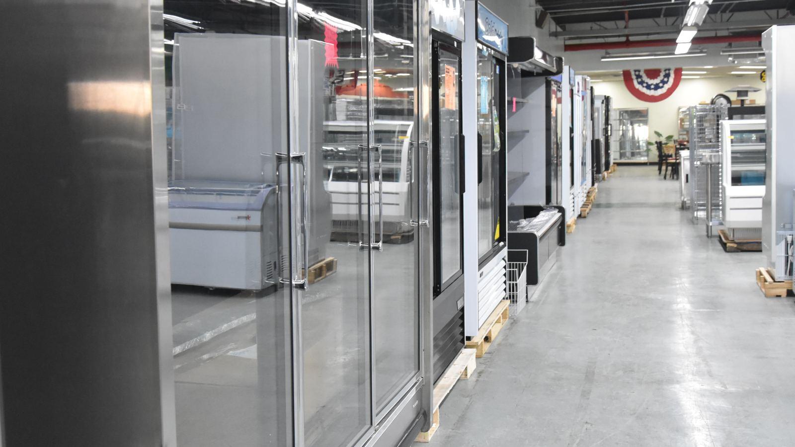 Shop commercial refrigeration equipment..