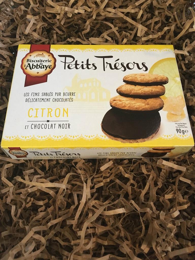 Petits Trésors - Lemon & Dark Chocolate