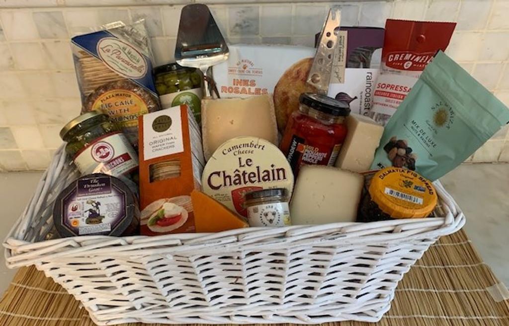 Around the World Foodie Basket