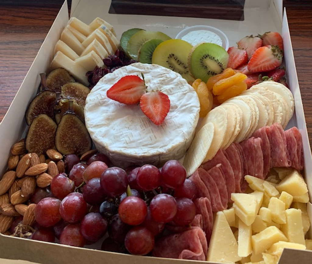 Picnic Cheese and Fruit Box
