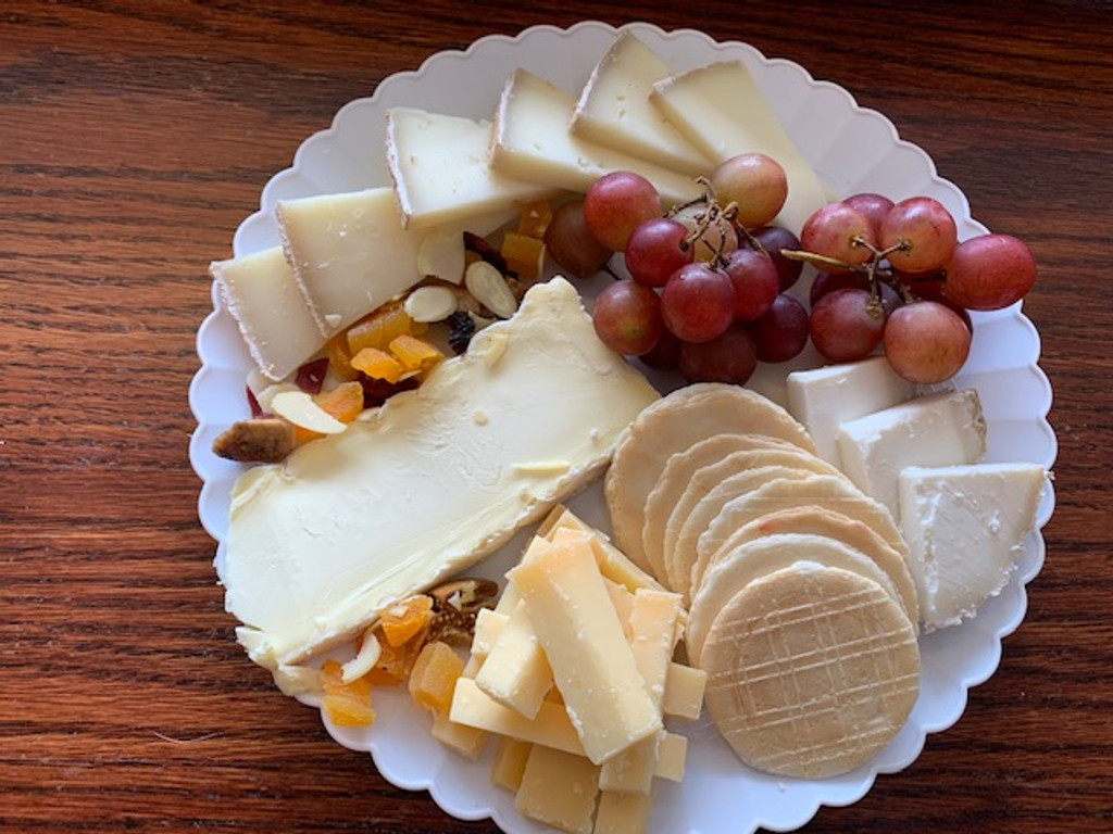 Cheese Plate for Wine Tasting
