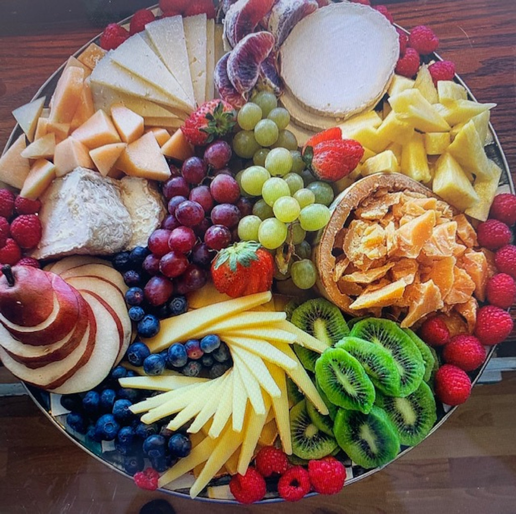 Cheese And Fruit Platter Olsson S Fine Foods