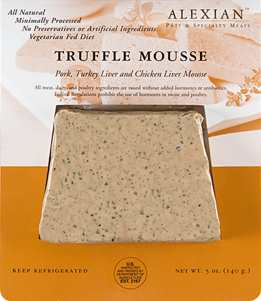 Alexian Truffle Mousse Pate Slices