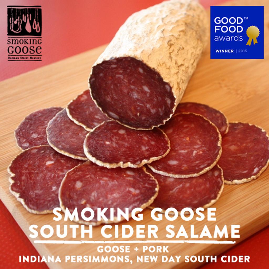 Smoking Goose South Cider Goose Salami