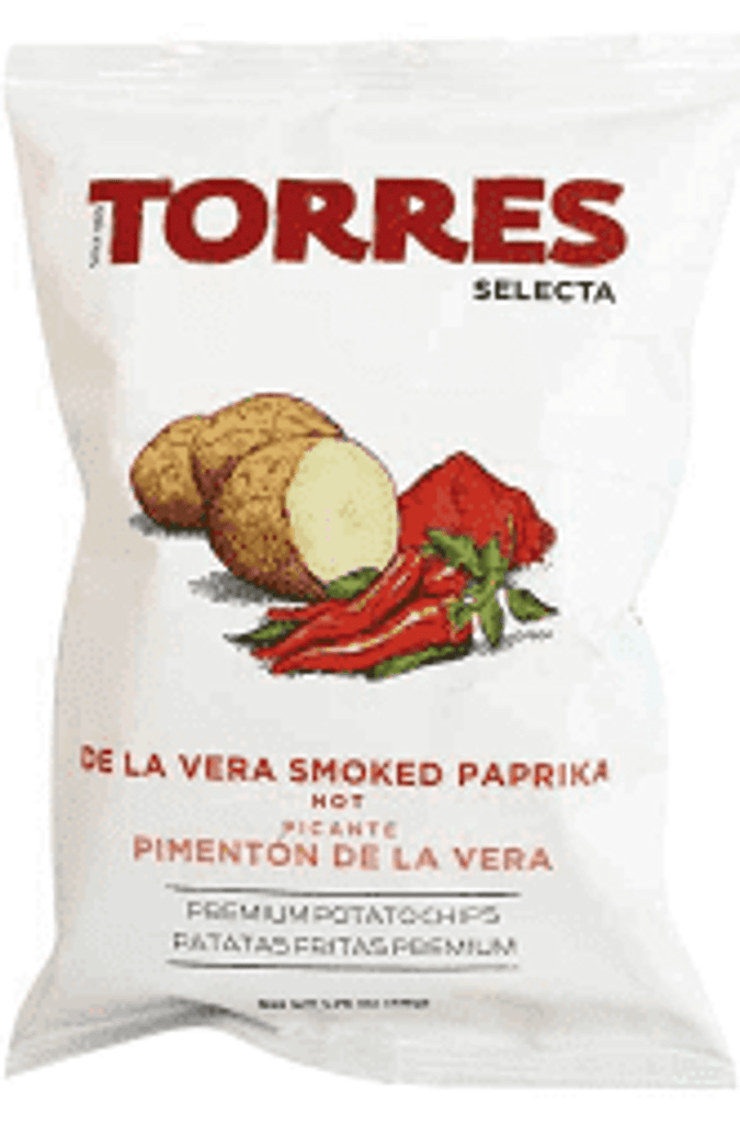 Torres Hot Paprika Chips