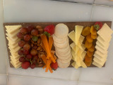 4 Assorted Cheddars with Fruit and Crackers