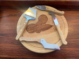 Olsson's Exclusive Klaus the Mouse Cheese Board and Tools Set