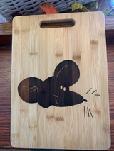 Olsson's Exclusive Klaus the Mouse Bamboo Cheese Board