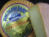 King Island Dairy's Stokes Point Smoked Cheddar