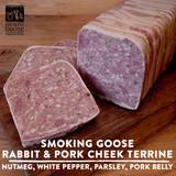 Smoking Goose Rabbit and Pork Cheek Terrine 8 oz.