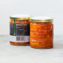 Le Bon Magot - lemon-sultana marmalata with caraway & saffron