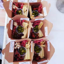 Happy Hour Cheese and Charcuterie  Boxes