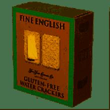Gluten-Free Water Crackers