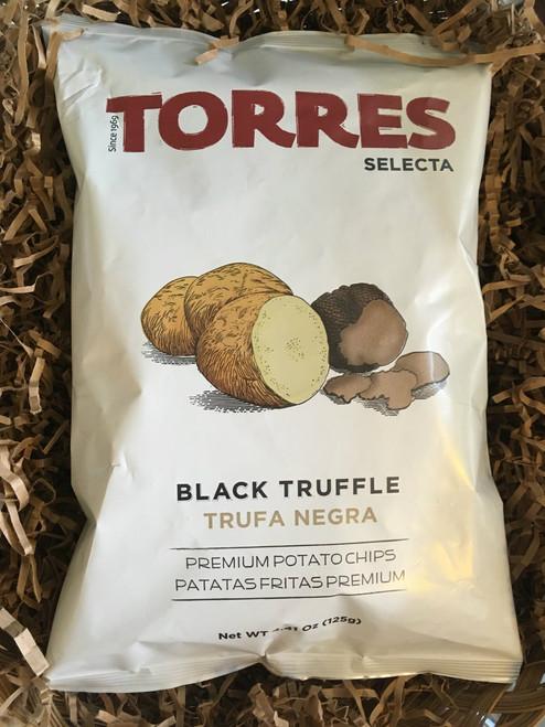 Torres Black Truffle Potato Chips  125G