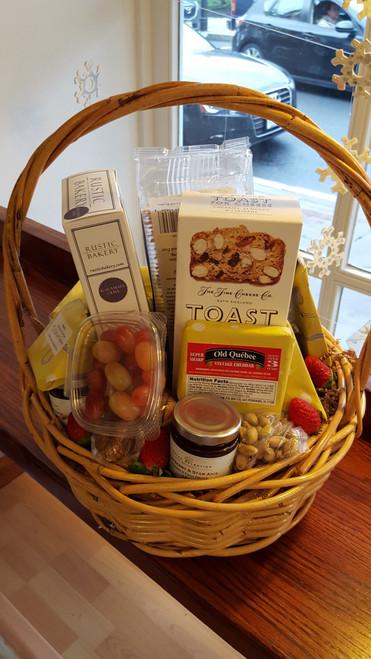 Cheesy Gift Basket Medium