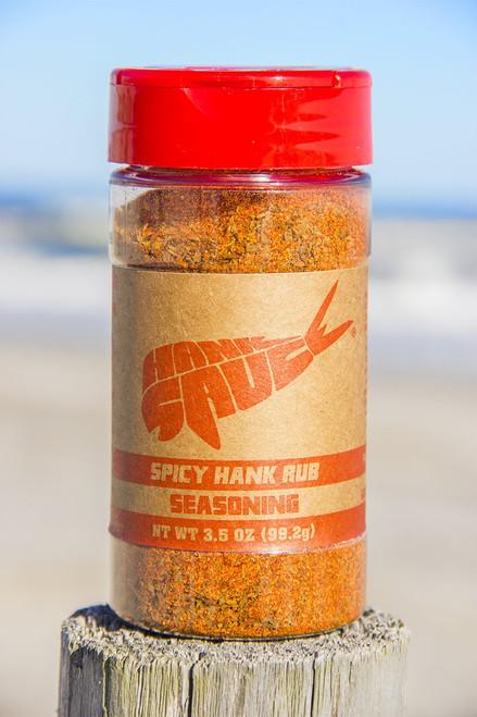 Hank Spicy Rub Seasoning
