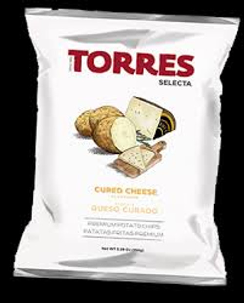 Torres Cured Cheese Chips 1.76oz