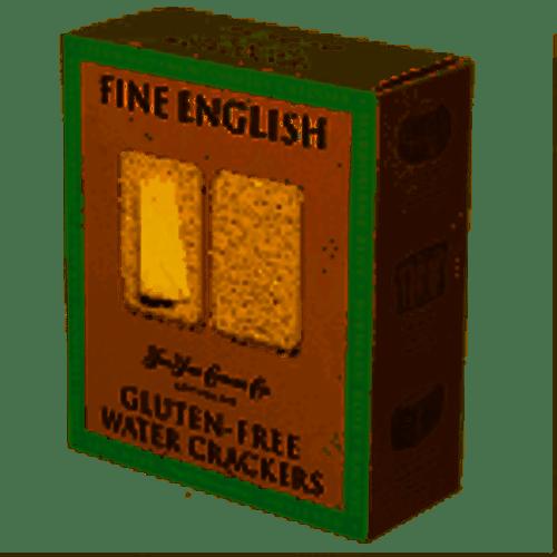 Fine English Gluten-Free Water Crackers