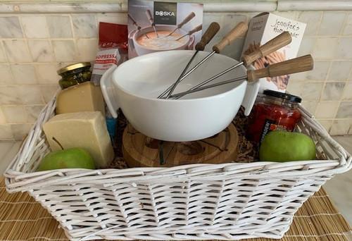 Fondue Gift Basket