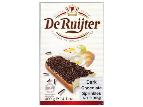 De Ruijter Dark Chocolate Sprinkles (Hagelslag Puur)