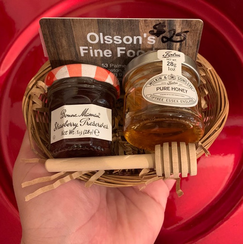 Mini Gift Basket with $25 Gift Card