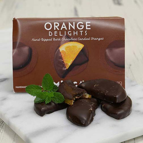 Choco Orange Delights (chocolate covered orange slices from Spain)
