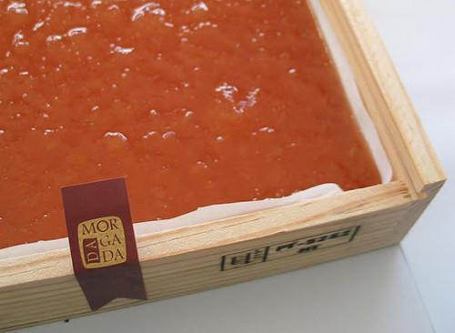 6 Oz Membrillo (Quince Paste) in a wooden box