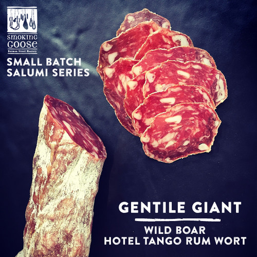 Smoking Goose's Gentile Giant Wild Boar Salami Sliced 4oz