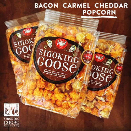 Smoking Goose Caramel Cheddar Popcorn